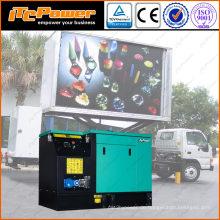 16kW schalldichter Diesel-Generator für mobile LED-Bildschirm LKW
