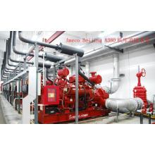 Set de pompes à incendie Wandi Brand utilisé dans l'aéroport de Beijing 300kVA-1250kVA