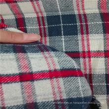 Fio de algodão tingido tecido stocklot