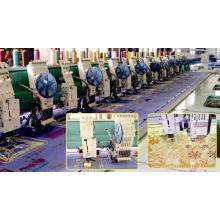 Lockstitch Industrial Embroidery Machine , Garment Embroidery Machine