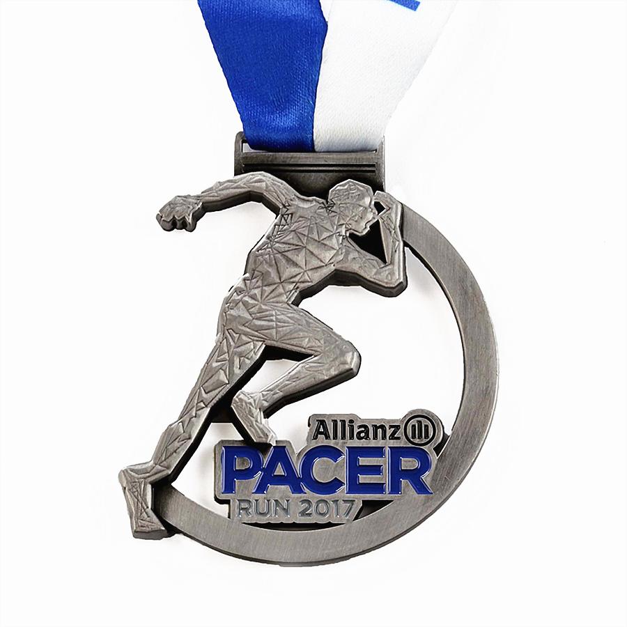 Custom Race Metal Medals
