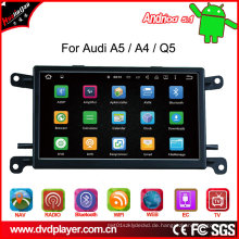 Auto GPS Navigation DVD Multimedia Player für Audi Q5 / A5 / A4 Digital TV Bt, Bt Musik Aux Video Ausgang GPS Navigation