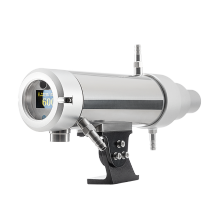 2-color infrared pyrometer for industrial process