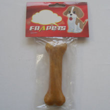 "Dog Chew of 4.5"" Smoked Pork Hide Pressed Bone for Dog"