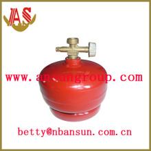0.5KGB Stahl Gasflasche