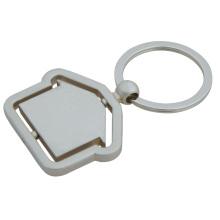 Брелок для ключей Дома, Кольцо с закругленным внутренним кольцом (GZHY-KC-019)