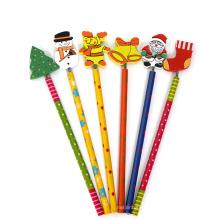 Crayon de bande dessinée élève papeterie créative coréen stylo hb crayon en bois personnalisé enfants cadeaux
