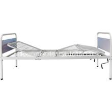 Складные двойные рукоятки со стальной сварной сеткой кровать больничная койка