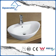 Ceramic Cabinet Art Basin and Vanity Top Hand Washing Sink (ACB8001)