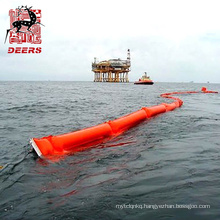 Eco friendly floating pvc oil spill containment berm