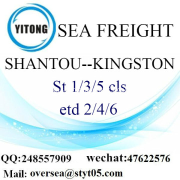 Shantou Port LCL Konsolidierung nach Kingston