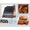 Estera antiadherente reutilizable antiadherente de la parrilla del bbq