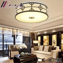 Moderne chinesische Stil Runde einfache Deckenleuchte mit Wohnzimmer
