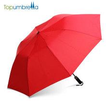 Top-Qualität chinesische Produkte Mini winddicht 2 Falten automatische Schirme