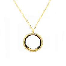 Femmes Femmes Mode 22k Thick Gold Thin Rope Chaînes Lockets Colliers
