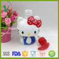 Cartoon shape customized empty plastic pump liquid soap PP bottle