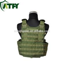 Nueva llegada ejército chaqueta sistema molle militar táctico chaleco placa portador a prueba de balas precios chaleco