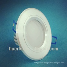 3 pulgadas de tamaño interior 79mm 3w led downlight