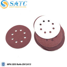 hook and loop sanding paper disc