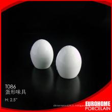 fournitures de bureau Chine stock shaker de sel poivre blanc vaisselle pas cher Chine