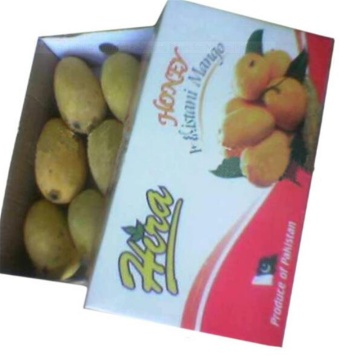 Boîtes d'emballage en carton ondulé pour mangue