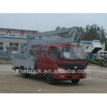 Buen rendimiento Foton camión de gran altura, 4x2 camión de plataforma aérea