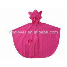 Pvc impermeável / raincoat pvc / raincoat crianças