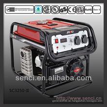 2800 Watt SC3250-II 50Hz Einphasiger tragbarer Generator-Satz