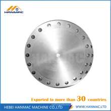 ASME B 16.5 brida ciega aluminio acero