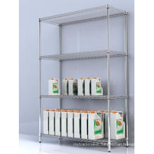 NSF Heavy Duty Chrome Metral Wire Shelving (Load 800lbs / Shelf)
