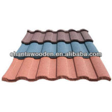 Stone chip coated colour steel roof/roofing tile with cheaper price