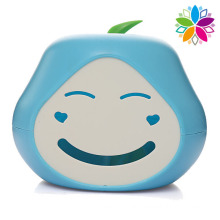 Cute Smile Design Plastic Tissue Box (ZJH053)