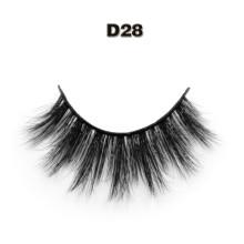 2016 Meilleure vente de cils d'emballage marque privée 3D cils de soie pour la beauté