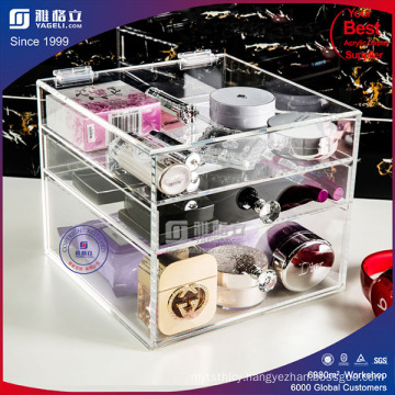 3 Tiers Wholesale Acrylic Makeup Organizer with Drawer