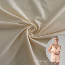 comfortable brush 82 nylon18 spandex thermal sleepwear fabric for men and women