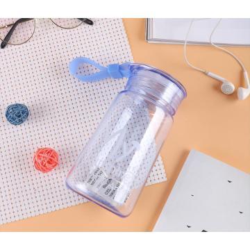 Красочная профессиональная практичная пластиковая бутылка для воды
