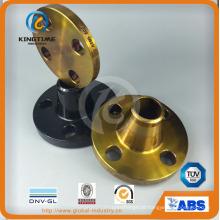 Flange de pescoço de solda de aço carbono de cara levantada a105 (kt0385)
