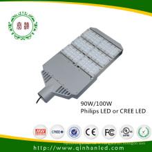 Lumière extérieure de route de pelouse de rue de parc du CREE LED 90W / 100W