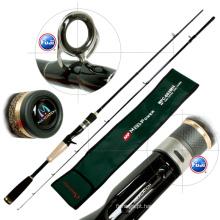 FUJI Guide Reel Seat Carbon Bait Casting Fishing Rod