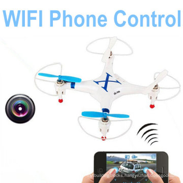 Cheerson Cx-30W for iPhone/iPad/Android WiFi Control Quadcopter 2.4G 6 Axis Drones with Camera 10217565