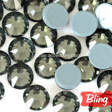 Bling Hotfix Pierres Strass Black Diamond SS20