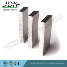 Segments de diamant de coupe de grès