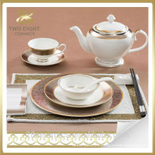 Wholesale portuguese porcelain dinnerware, bulk dinner plates for restaurants