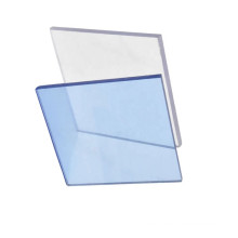 Hard clear solid polycarbonate sheet for windows