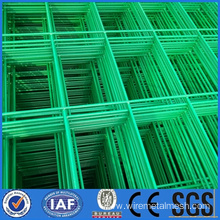 PVC Green wire mesh fence with frame