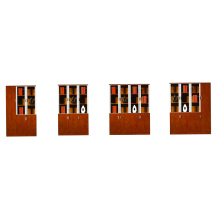 office furniture modern modular wooden glass office file bookcase photos