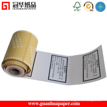 Top Sale Pre-Printed Thermal POS Paper