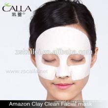 máscaras caseiras de lama facial