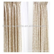 two layer ready made curtain