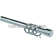 C19010 adjustable ,extendable curtain rod curtain pole with metal brackets and rings , home decoration, curtain accessories